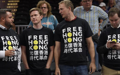 NBA Asked to Embrace Hong Kong Protests; Warriors-Wizards Game Scene of Pro-Freedom Demonstrations