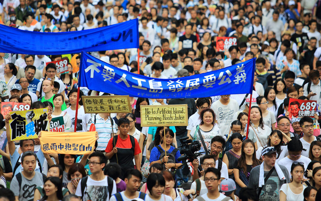 Time for NBA to Embrace Hong Kong Protests